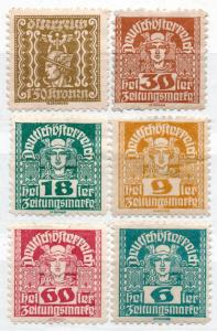 (I.B) Austria Postal : Newspaper (Zeitung) Collection