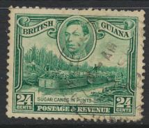 British Guiana SG 312  perf 12½ Used (Sc# 234 see details)