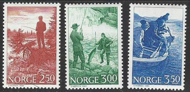Norway #836-838 MNH Full Set of 3
