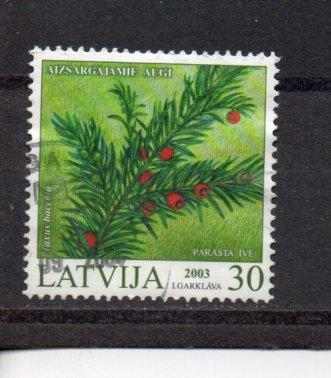 Latvia 569 used (A)