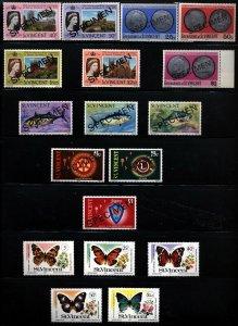 St. Vincent Topical/SPECIMEN Collection Flora,Marine,Birds, Butterflies Mint