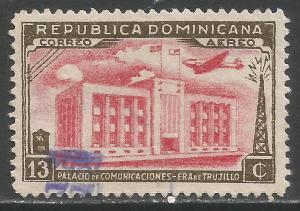 DOMINICAN REPUBLIC C50 VFU M867-6