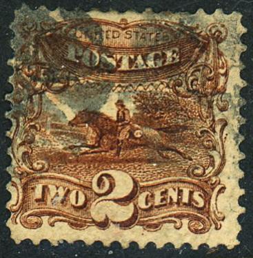 U.S. #113 Used F-VF