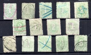 New South Wales unchecked Postage Dues collection WS16663