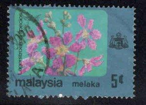 Malaysia Malacca Scott 83 Used Flower stamp