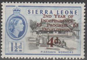 Sierra Leone #243  MNH F-VF (SU154L)