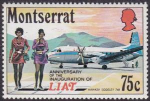 Monserrat 1971 SG285 UHM