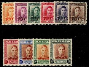 NEW ZEALAND SG680-689, COMPLETE SET, LH MINT. Cat £19.