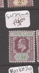 Leeward Islands SG 29 MOG (4cdz)