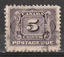 J4 Canada Used BOB Postage Due
