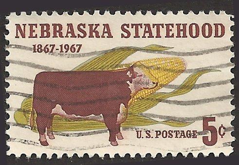 # 1328 USED NEBRASKA STATEHOOD CENTENARY