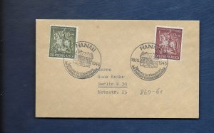 GERMANY 1943 GOLDSMITHS COVER -Special cancel