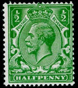 SG418 SPEC N33(5), ½d deep bright green, LH MINT.