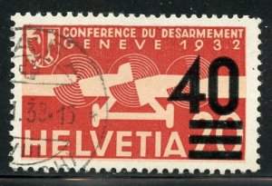 Switzerland # C24, Used. CV $ 15.00