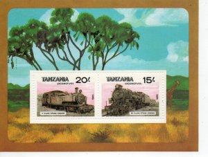 Tanzania 289 MNH ..