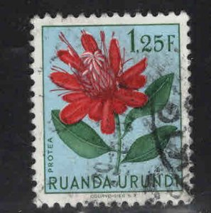 Ruanda-Urundi Scott 123 Used stamp