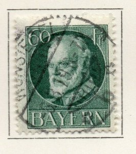 Bayern Bavaria 1914-18 Early Issue Fine Used 60pf. NW-120707