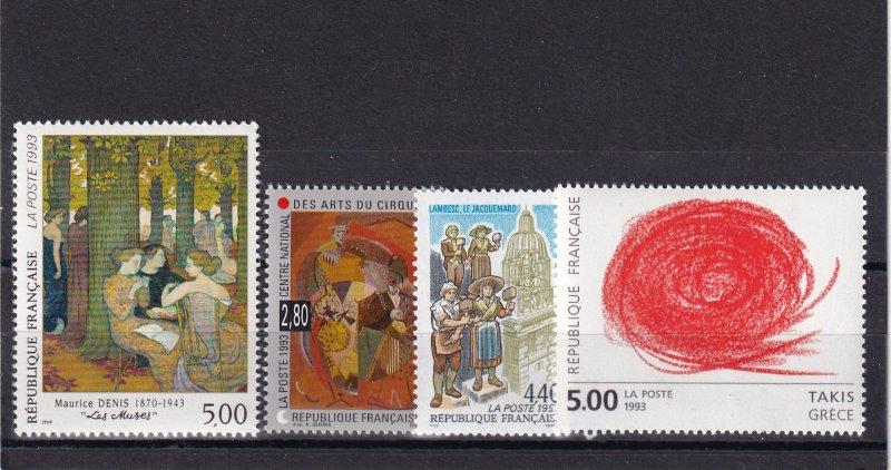 France #2376-9  MNH CV $7.75  (Z5866)