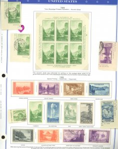 U.S. #USED/MINT MIXED CONDITION