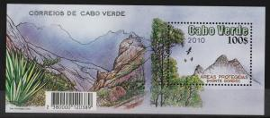 Cape Verde 2010 Protected Areas MS (6+MS) MNH