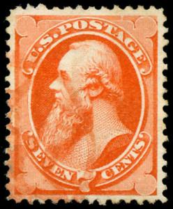 momen: US Stamps #160 Used Red NYFM PSE Graded 85