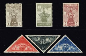 SPAIN STAMP 1930 Columbus and the Discovery of America - Ships MH/OG STAMPS LOT