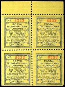 U.S. TELEGRAPH 15T27  Mint (ID # 83110)