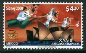 MEXICO 2203, SUMMER OLYMPICS, SYDNEY. MINT, NH. VF.
