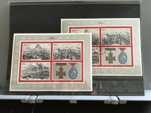South Africa   Rorke's Drift  cancelled and MNH stamps sheets R27504