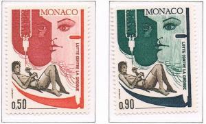 Monaco VF-NH #841-842