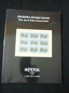 AUCTION CATALOGUE 2012 RHODESIA DOUBLE HEAD THE 'ALAN URIA' COLLECTION