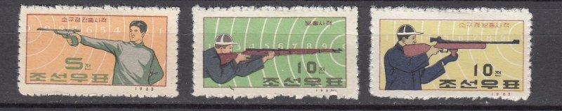 J26836 1963 north korea set mng #500-2 sports