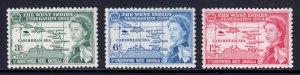 St. Kitts and Nevis - Scott #136-138 - MLH - SCV $2.90