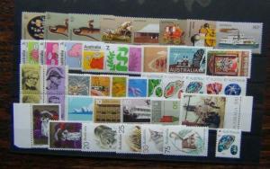 Australia 1972 1974 Metric Health Marine Life Radio Animals Paintings $10 MNH