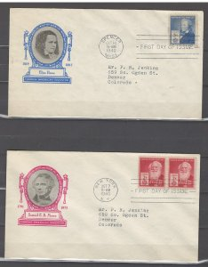 COLLECTION LOT # 441L USA 2 FDC 1940