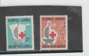 South West Africa  Scott#  295-296  MNH  (1963 Red Cross)