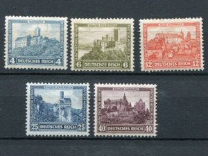 Germany #B44-48   mint   F-VF -   Lakeshore Philatelics