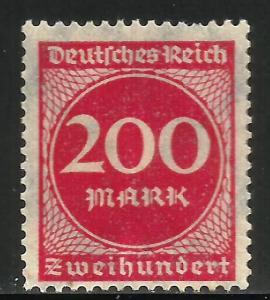 Germany 1923 Scott# 230 MH