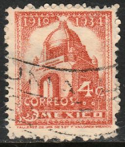 MEXICO 840 4c 1934 Definitive Wmk Gobierno...279 Used (850)