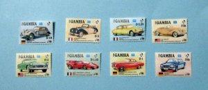 Gambia - 620-27, MNH Set. Auto Centennial. SCV - $8.05