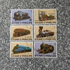 St. Thomas & Prince Isl. 686-8 VF complete set, CV $11.75