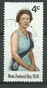 New Zealand SG 1046  QE II NZ Day 1974 Fine Used