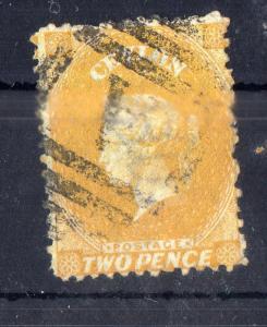 CEYLON - 1867 SG NO 64 FINE USED  CV 14.00 GBP