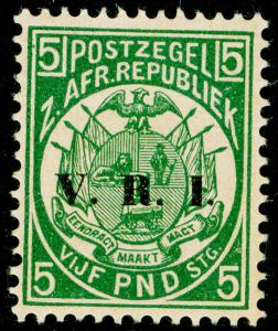 SOUTH AFRICA - Transvaal SG237, £5 deep green, M MINT. Cat £2000.