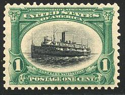US Scott #294 Mint, XF/S, NH