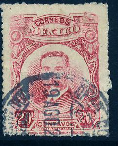 MEXICO 615 20c Belisario Dominguez. Used. (353)