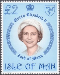 Isle of Man # 200 mnh ~ £2 Queen Elizabeth II