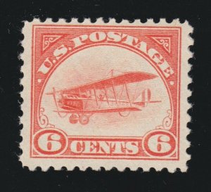 US C1 6c Airmail Mint F-VF OG NH SCV $110