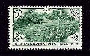 Pakistan 71 Lightly Hinged 1954 issue