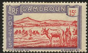 Cameroun, Scott #176, Unused, Hinged